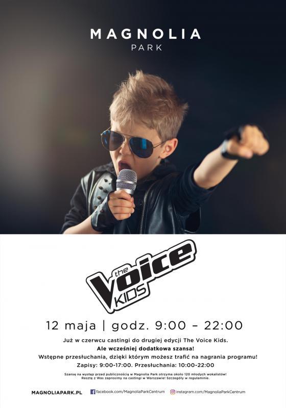"""Droga do""""The Voice Kids!"""" zaczyna się wMagnolia Park"""