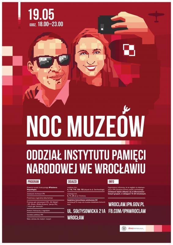 Noc Muzeów wewrocławskim Oddziale IPN – Wrocław, 19 maja