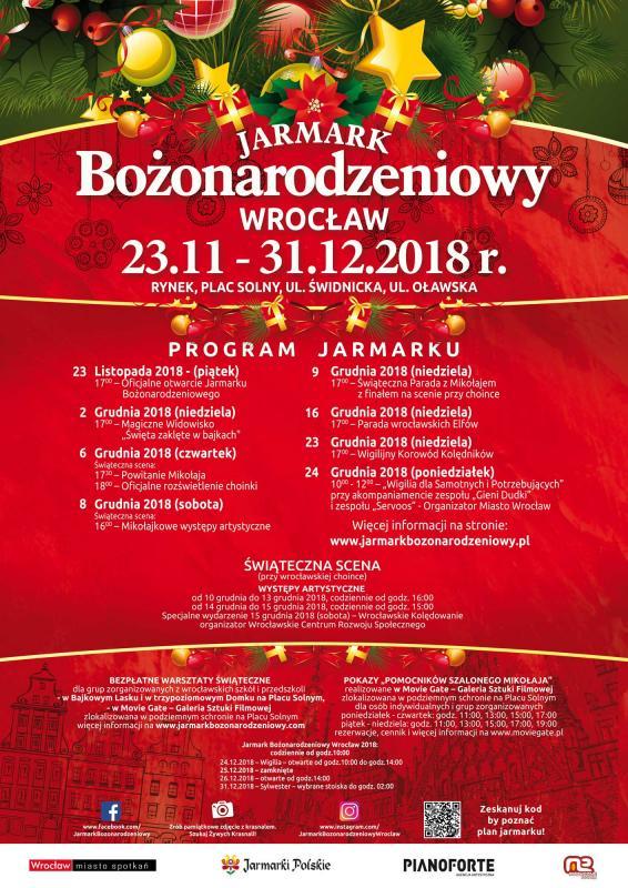 Wrocławski Jarmark Bożonarodzeniowy 2018