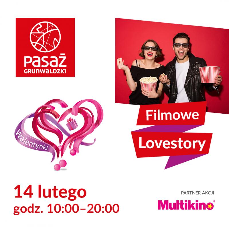 Filmowe Lovestory wPasażu Grunwaldzkim