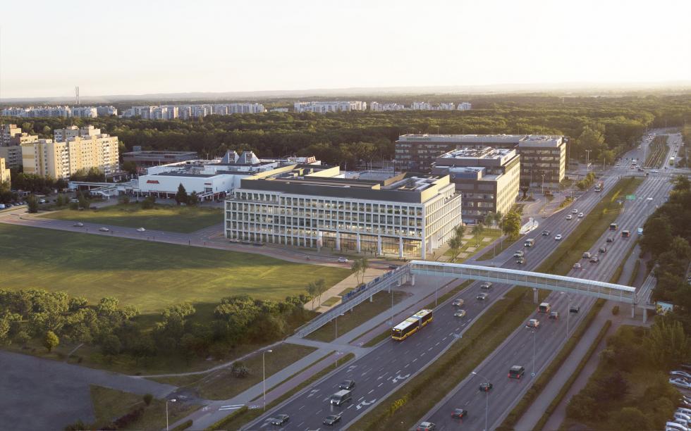 Echo Investment zaczyna budowę West 4 Business Hub