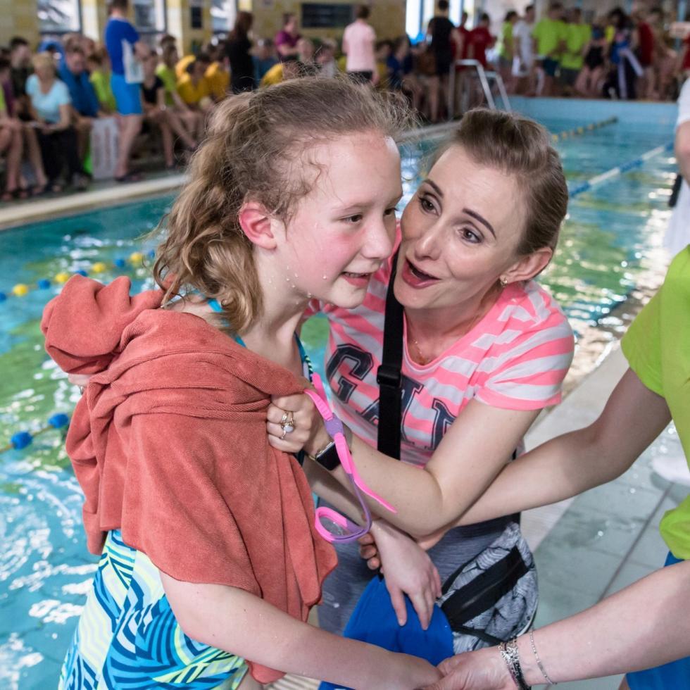 Rekordowe zmagania pływackie na basenie wrocławskiej AWF