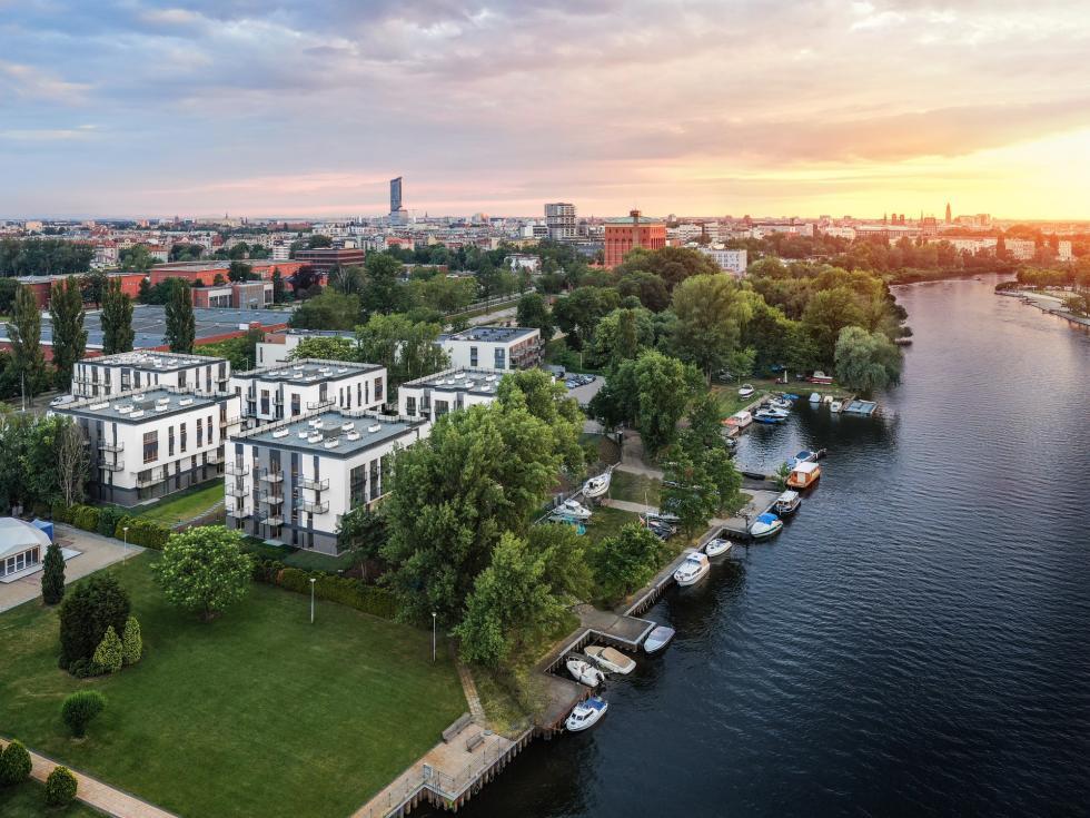 Prestiżowy projekt aparthotelowy Miasto Marina weWrocławiu już gotowy