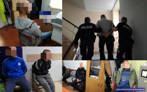 Zatrzymano 10 notorycznych przestępców