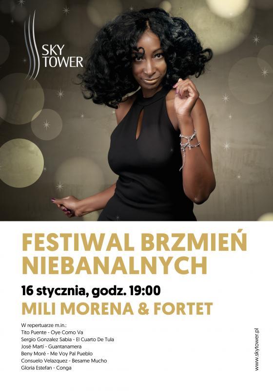 Kubańskie rytmy wSky Tower, czyli noworoczny koncert Mili Morena & Fortet