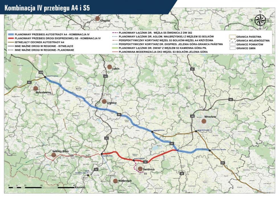 Wspólna petycja prezydentów imarszałka doGDDKiA wsprawie nowego korytarza A4 iłącznika S5